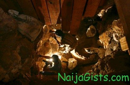 illegal gold miners buried alive in zamfara