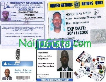 lagos id cards