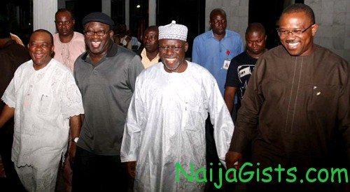 nigerian governors list