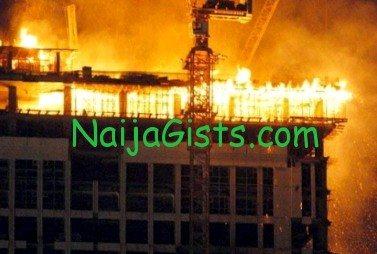nigerian hajj pilgrims hotel fire makkah saudi arabia