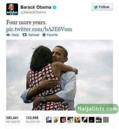 obama victory 2012 tweets