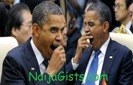 obama yawning asian conference