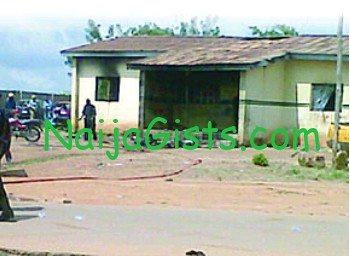 okada police clash apata ibadan