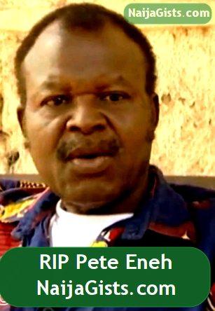 pete eneh is dead