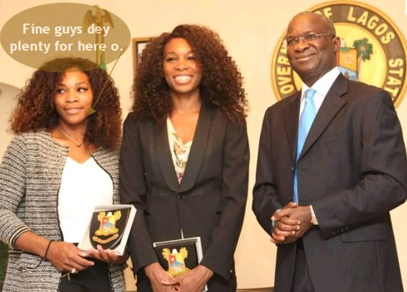 serena venus williams fashola lagos