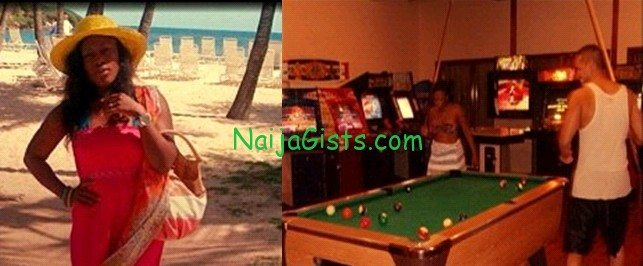 uche jombo vacation pictures