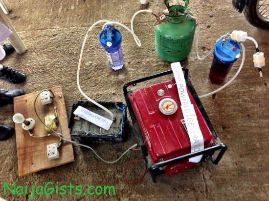 urine powered generator nigeria