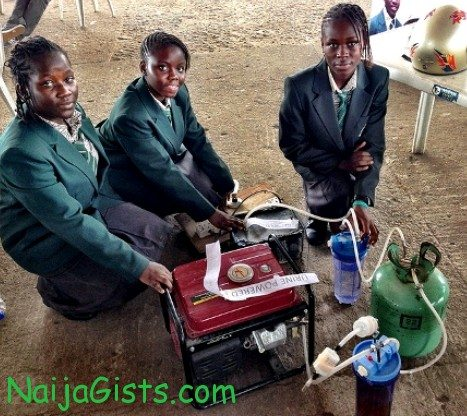 urine powered generator students