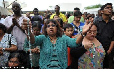 virgin mother mary visions lumpur malaysia