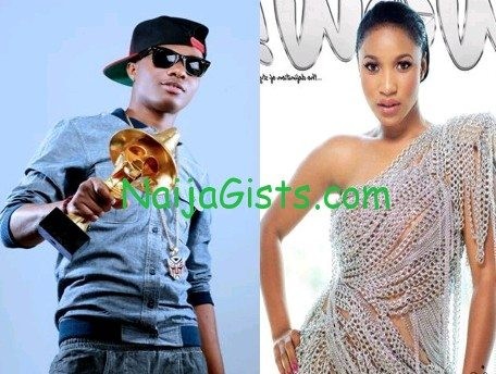 wizkid fights tonto dikeh