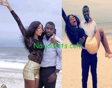 yvonne nelson beach birthday party