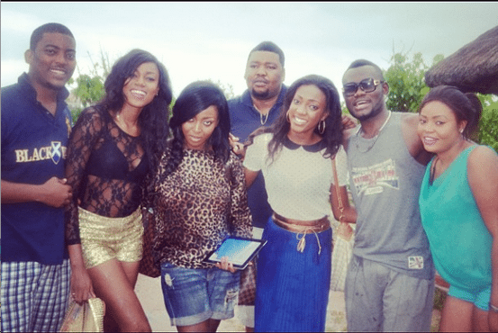 yvonne nelson birthday party accra ghana