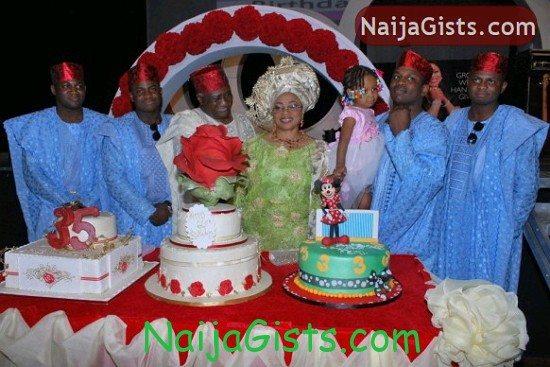 Folorunsho Alakija children