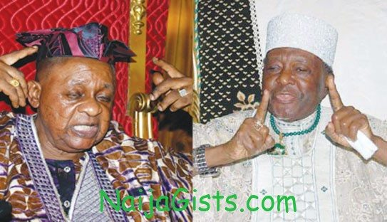 alaafin of oyo fight ooni of ife