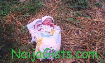 baby abandoned bush ikorodu lagos