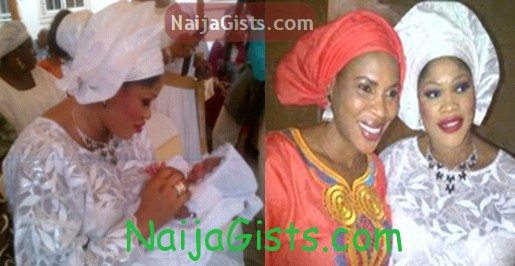 bisi ibidapo baby naming ceremony