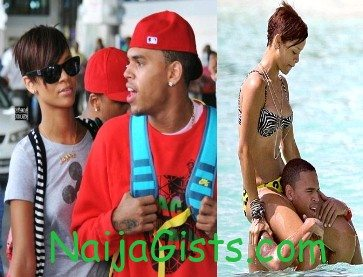 chris brown rihanna barbados new year
