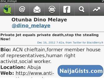 dino melaye private death