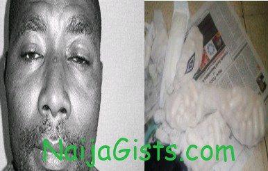 drug dealer excretes 90 wraps cocaine