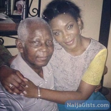 genevieve nnaji dad father