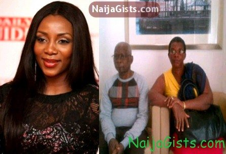 genevieve nnaji parents