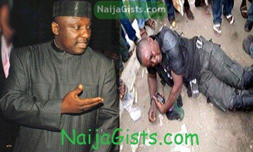 governor okorocha police coma