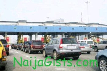 lagos toll gate