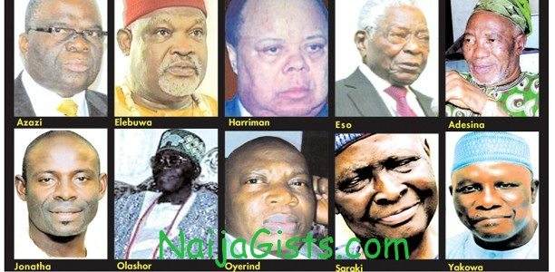 nigerians who died in 2012