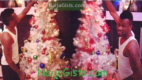 psquare christmas tree peter okoye