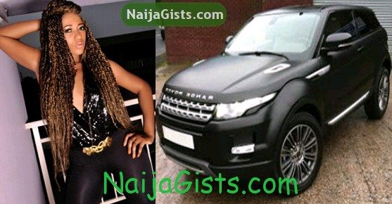 rukky sanda new car range rover evoque