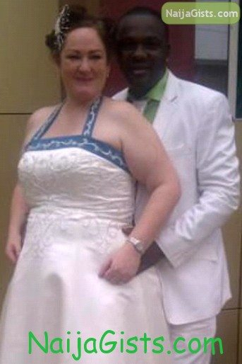 yomi fabiyi white wedding pictures