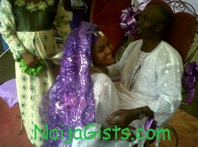yoruba actor sanni adio wedding