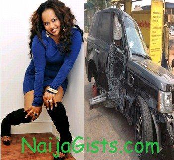 Nana Ama McBrown accident