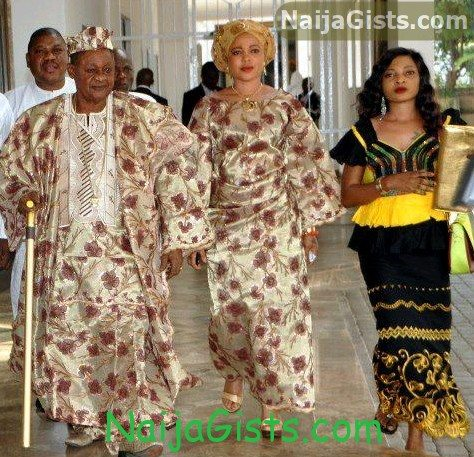 alaafin of oyo aso rock abuja
