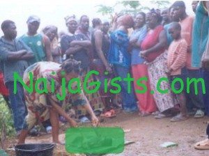 baby dumped in toilet nigeria