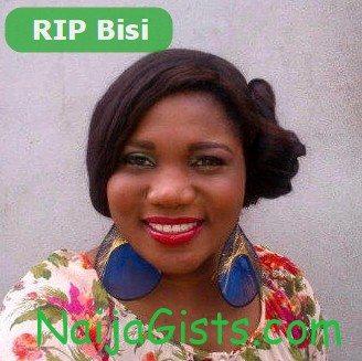 bisi komolafe is dead