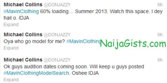 don jazzy mavin clothing line