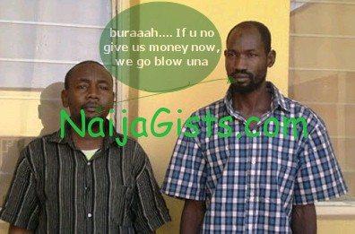 fake boko haram members arrested