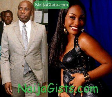 governor amaechi romance Nuella Njubigbo