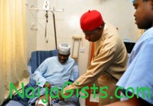 governor idris wada home treatment