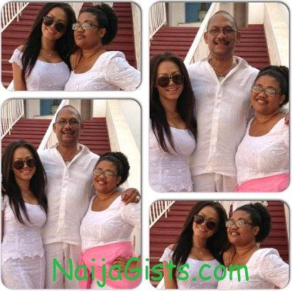 nadia buari parents
