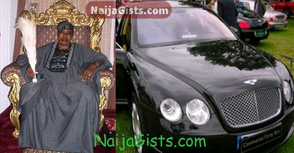 nigerian king oba 2014 bentley