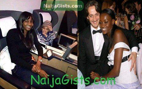 nigerian model oluchi husband son