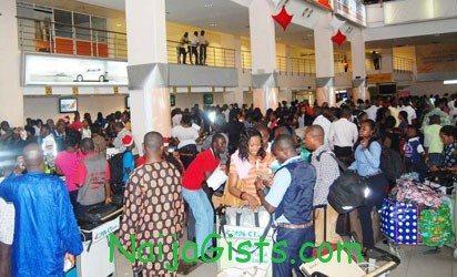 nigerians deported deportees 2013
