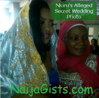 nkiru sylvanus secret wedding pictures