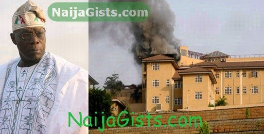 obasanjo escaped death abeokuta fire