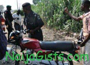 police kills okada man
