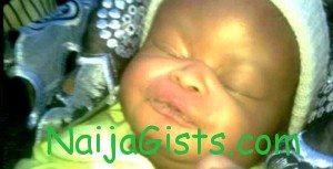 stolen baby dies in custody anambra