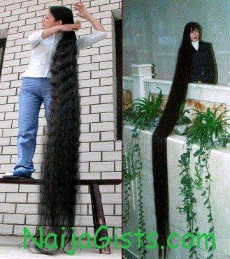 worlds longest hair woman 2013