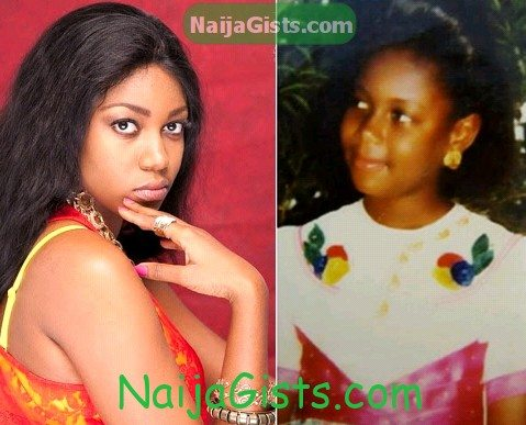 yvonne nelson childhood picture